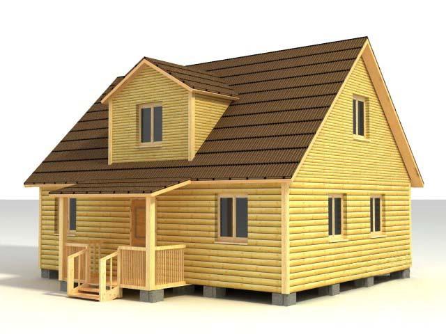Дом 7х9 по проекту №43