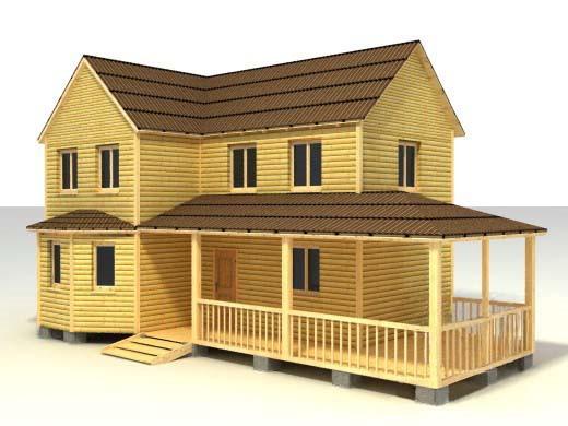 Дом 7х12 по проекту №47